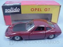1. Brinquedos antigos - Solido-Brosol - Opel GT marrom Fabricado pela Brosol Solido brésilienne Datado 2-1969