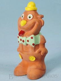 1. Brinquedos antigos - Floc - Palhaço com apito 11,00 cm de altura Década de 1980