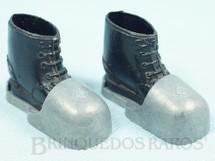 Brinquedos Antigos - Estrela - Par de Botas de chumbo para a Aventura Busca do Tesouro Submarino Série 1977