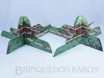 Brinquedos Antigos - Estrela - Par de Montanhas Ornamento para pistas de Autorama HO com cenas da Serra da Via Anchieta Anos 1967 a 1968