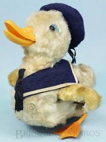 1. Brinquedos antigos - M.C. - Pato Marinheiro com 15,00 Cm de altura Anda em círculo e bate as Asas Década de 1960