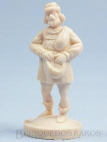 1. Brinquedos antigos - Casablanca e Gulliver - Peão Branco para Jogo Xadrez do Rei Arthur e Xadrez do Mequinho Década de 1970