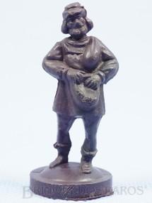 1. Brinquedos antigos - Casablanca e Gulliver - Peão Preto para Jogo Xadrez do Rei Arthur e Xadrez do Mequinho Década de 1970