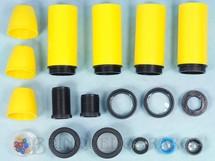 1. Brinquedos antigos - D.F. Vasconcellos - Peças avulsas para Poliopticon Série Exportação  Década de 1980 Preço por unidade
