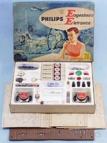 Brinquedos Antigos - Philips - Peças e Componentes diversos para o Conjunto Engenheiro Eletrônico Preço por unidade Década de 1960