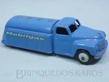1. Brinquedos antigos - Dinky Toys - Caminhão Tanque Mobilgas Studebaker Tanker ano 1950 a 1952