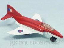 1. Brinquedos antigos - Matchbox - Phantom F4E Sky Busters vermelho
