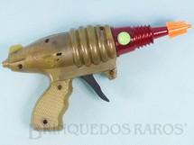 1. Brinquedos antigos - Sem identificação - Pistola Espacial com faíscas Lazer Ray Gun Década de 1980