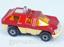 Brinquedos Antigos - Matchbox - Planet Scout Superfast vermelho metálico