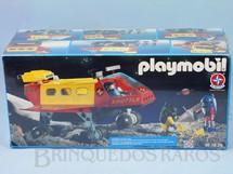 1. Brinquedos antigos - Estrela - Playmobil Veículo Shuttle Série Espacial Caixa Lacrada  Década de 1990
