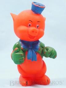 1. Brinquedos antigos - Estrela - Porquinho Prático com 10,00 cm de altura Walt Disney  Década de 1960