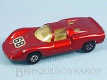 1. Brinquedos antigos - Matchbox - Porsche 910 Superfast vermelho metálico