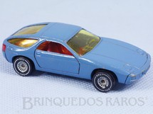 Brinquedos Antigos - Siku-Rei - Porsche 928 azul Brasilianische Siku Alfema