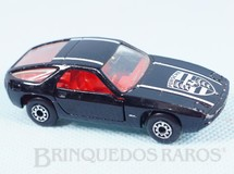 1. Brinquedos antigos - Matchbox - Porsche 928 Superfast preto