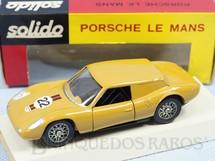 1. Brinquedos antigos - Solido-Brosol - Porsche GT Le Mans marrom claro Fabricada pela Brosol Solido brésilienne Datada 6-1968