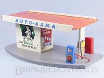 Brinquedos Antigos - Estrela - Posto de Gasolina Ornamento para pistas de Autorama Ano 1963