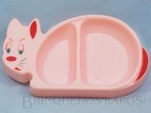 1. Brinquedos antigos - Mestre - Prato de Gatinho para Bebê Década de 1960