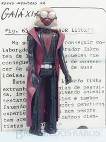 1. Brinquedos antigos - Model Trem - Professor Liturfo Série Novas Aventuras na Galáxia Guerra nas Estrelas Star Wars com Folheto de Apresentação Ano 1983