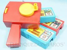 1. Brinquedos antigos - Estrela - Projetor Mini Cine com 3 filmes Ano 1981