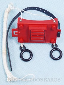 Brinquedos Antigos - Estrela - Propulsor de Peito da Aventura Missão Teleférico O Vale da Aranha Negra Edição 1979