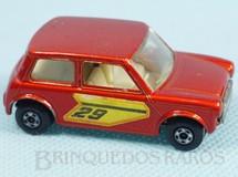 1. Brinquedos antigos - Matchbox - Racing Mini Superfast dourado