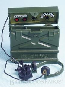 Brinquedos Antigos - Estrela - Rádio Aventura Posto de Comando Anos 1978 a 1979