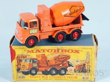 Brinquedos Antigos - Matchbox - Ready Mix Concrete Truck King Size