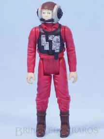1. Brinquedos antigos - Kenner - Rebel B-Wing Starfighter Pilot Star Wars Lucas Film Década de 1980