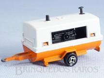 1. Brinquedos antigos - Majorette - Reboque Remorque de Chantier Década de 1980