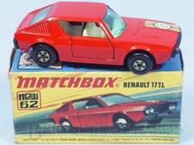 Brinquedos Antigos - Matchbox - Renault 17 TL Superfast 6 Label