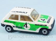Brinquedos Antigos - Matchbox - Renault 5 TL Superfast branco rally