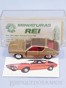 Brinquedos Antigos - Schuco-Rei - Renault R17 TS Schuco Modell Brasilianische Schuco Rei com Cromo