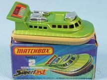 Brinquedos Antigos - Matchbox - Rescue Hovercraft Superfast chassi bege