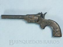 1. Brinquedos antigos - JR - Revolver Prinz de espoleta com 18,00 cm de comprimento Década de 1960