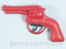 1. Brinquedos antigos - Rissi - Revolver Tic Tac com 14,00 cm de comprimento Década de 1970