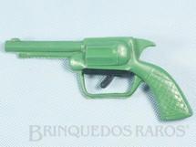 1. Brinquedos antigos - Sem identificação - Revolver Tic Tac com 17,00 cm de comprimento Década de 1970