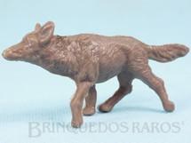1. Brinquedos antigos - Casablanca e Gulliver - Rin Tin Tin marrom Distribuído pela Trol e Viocena para o Forte Rin Tin Tin Década de 1970