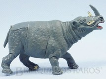 1. Brinquedos antigos - Casablanca e Gulliver - Rinoceronte Série Zoológico Década de 1960
