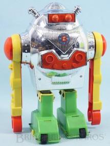 Brinquedos Antigos - Estrela - Robot Bam-Bô o Robô que dá cambalhota 22,00 cm de altura Primeira Série Ano 1975