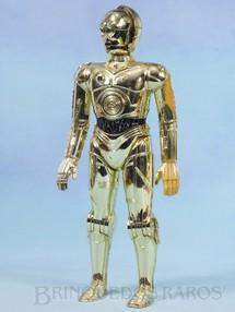 1. Brinquedos antigos - General Mills - Robot C3PO com 31,00 cm de altura Guerra nas Estrelas Star Wars Década de 1970