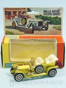 1. Brinquedos antigos - TinToys - Rolls Royce Silver Ghost com 9,00 cm de comprimento Década de 1970