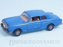 Brinquedos Antigos - Corgi Toys - Rolls Royce Silver Shadow azul Década de 1980