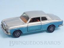 Brinquedos Antigos - Corgi Toys - Rolls Royce Silver Shadow azul e prata Década de 1980