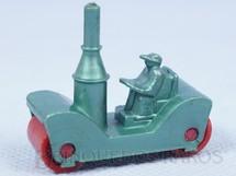 1. Brinquedos antigos - Sem identificação - Rolo Compactador a vapor com 4,00 cm de comprimento Década de 1960