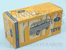 1. Brinquedos antigos - Roly Toys - Roly Toys Caixa Kombi Volkswagen Ano 1965