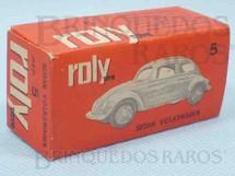 1. Brinquedos antigos - Roly Toys - Roly Toys Caixa Sedan Volkswagen Ano 1965