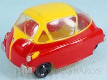 1. Brinquedos antigos - Atma - Romi-Isetta 1959 Atma Mirim com 10,50 cm de comprimento Coleção Miguel Cerrato Década de 1960
