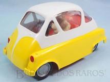 1. Brinquedos antigos - Atma - Romi-Isetta 1959 Atma Mirim com 17,00 cm de comprimento Coleção Carlos Augusto Década de 1960