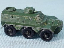 1. Brinquedos antigos - Matchbox - Saracen Personnel Carrier Black Plastic Regular Wheels
