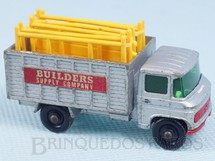 Brinquedos Antigos - Matchbox - Scaffolding Truck black plastic Regular Wheels